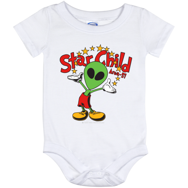 Area 51 Star Child - 1012 Baby Onesie 12 Month - Starbase9