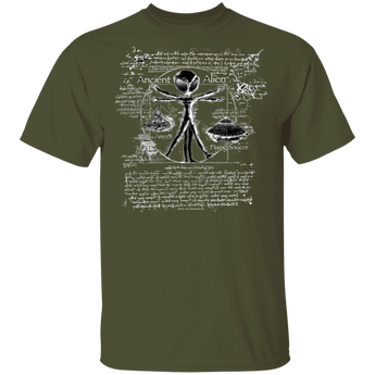 Ancient Alien T-Shirt - Area 51 UFO Souvenirs Gifts T-Shirts