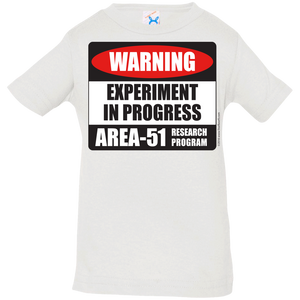 Area 51 Experiment in Progress Infant Jersey T-Shirt - Starbase9