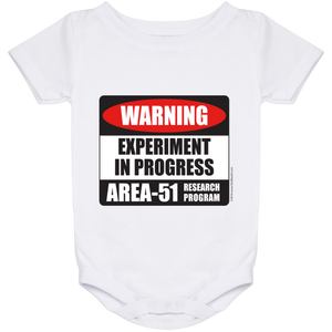 Area 51 Experiment in Progress Baby Onesie 24 Month - Starbase9