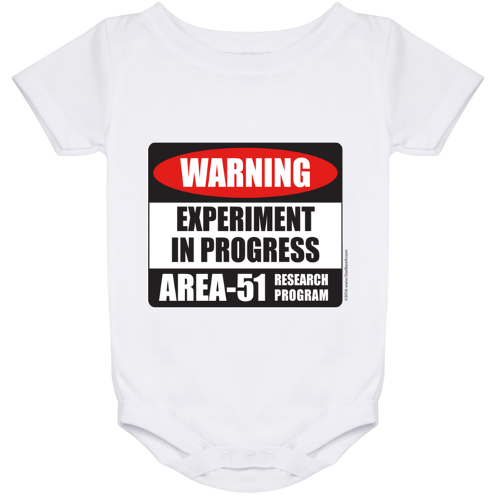 Area 51 Experiment in Progress Baby Onesie 24 Month - Area 51 UFO Souvenirs Gifts T-Shirts
