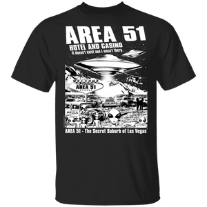 Area51 Hotel Casino 5.3 oz. T-Shirt - Starbase9