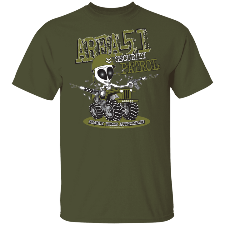 Area 51 Security Patrol T-Shirt - Starbase9