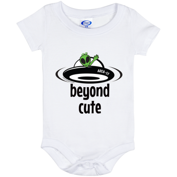 Area 51 Beyond Cute Baby Onesie 6 Month - Starbase9