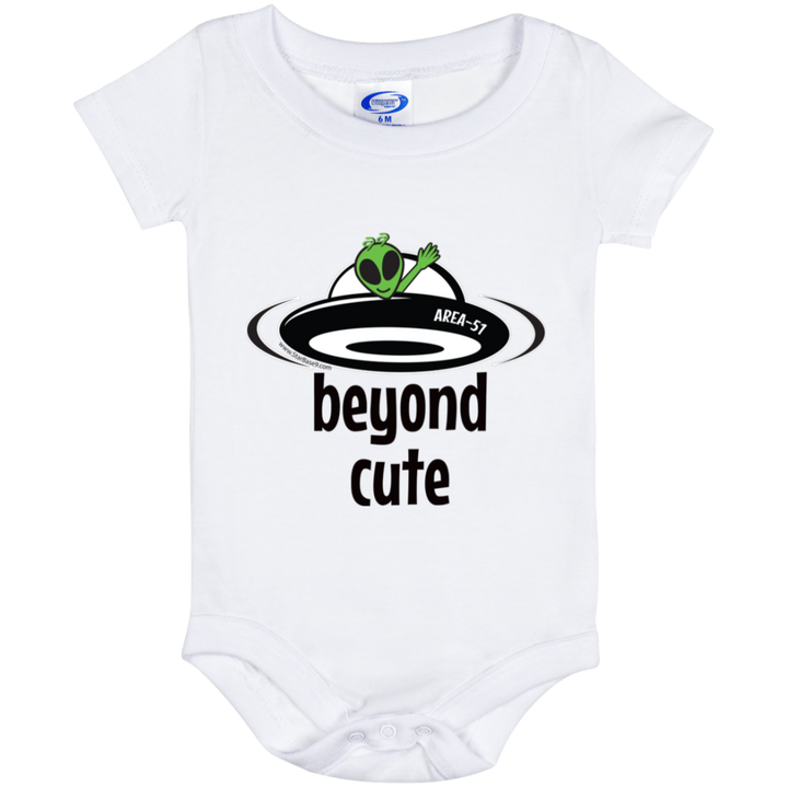 Area 51 Beyond Cute Baby Onesie 6 Month - Area 51 UFO Souvenirs Gifts T-Shirts