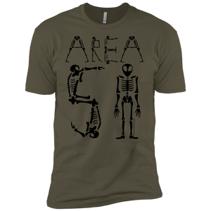 Area-51 Skeleton Type Premium T-Shirt - Starbase9