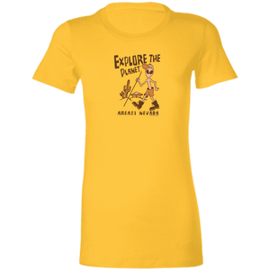 Explore the Planet UFO's - 6004 Ladies' Favorite T-Shirt - Starbase9