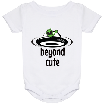 Area 51 Beyond Cute - 1024 Baby Onesie 24 Month - Starbase9