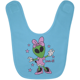 Area 51 Girl Baby Bib - Area 51 UFO Souvenirs Gifts T-Shirts
