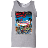 Area 51 Attacks - G220 100% Cotton Tank Top - Area 51 UFO Souvenirs Gifts T-Shirts