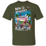 Area 51 Attacks T-Shirt - Area 51 UFO Souvenirs Gifts T-Shirts