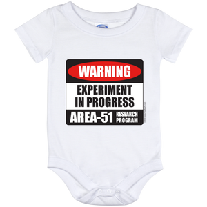 Area 51 Experiment in Progress Baby Onesie 12 Month - Starbase9