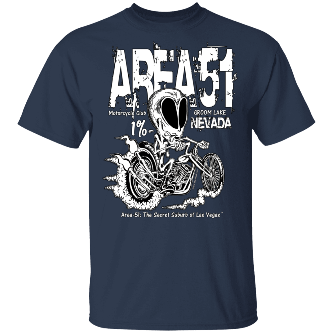Area51 Rat Bike T-Shirt 5.3 oz. - Starbase9