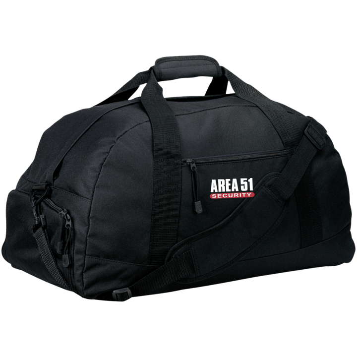 Area 51 UFO Security - BG980 Basic Large-Sized Duffel Bag - Area 51 UFO Souvenirs Gifts T-Shirts