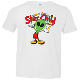 Area 51 Star Child - 3321 Toddler Jersey T-Shirt - Area 51 UFO Souvenirs Gifts T-Shirts