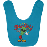 Area 51 Star Child Infant Baby Bib - Area 51 UFO Souvenirs Gifts T-Shirts