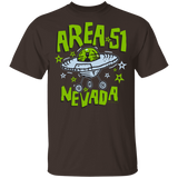 Area 51 Cartoon UFO - G500 5.3 oz. T-Shirt - Area 51 UFO Souvenirs Gifts T-Shirts