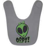 Area 51 OOOPS infant Baby Bib - Area 51 UFO Souvenirs Gifts T-Shirts