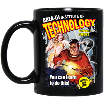 Area 51 Technology - BM11OZ 11 oz. Black Mug - Starbase9