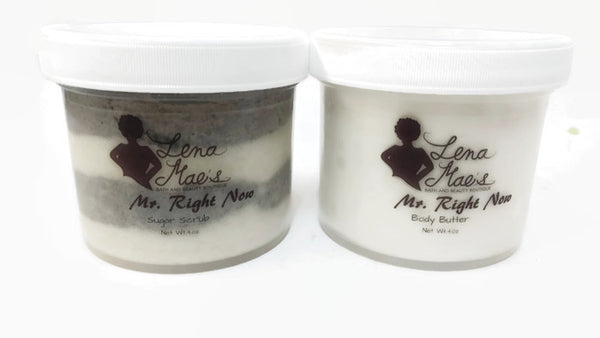 BODY BUTTER & SUGAR SCRUB SET'S  FOR HIM