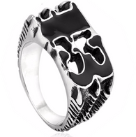 316L Stainless Steel ring Men's Claw Luck 13 Ring - 1021st