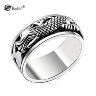 Anel Domineering Chinese Dragon Rings - 1021st