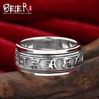 Silver sterling rings for men high quality fine jewelry wedding rings - 1021st