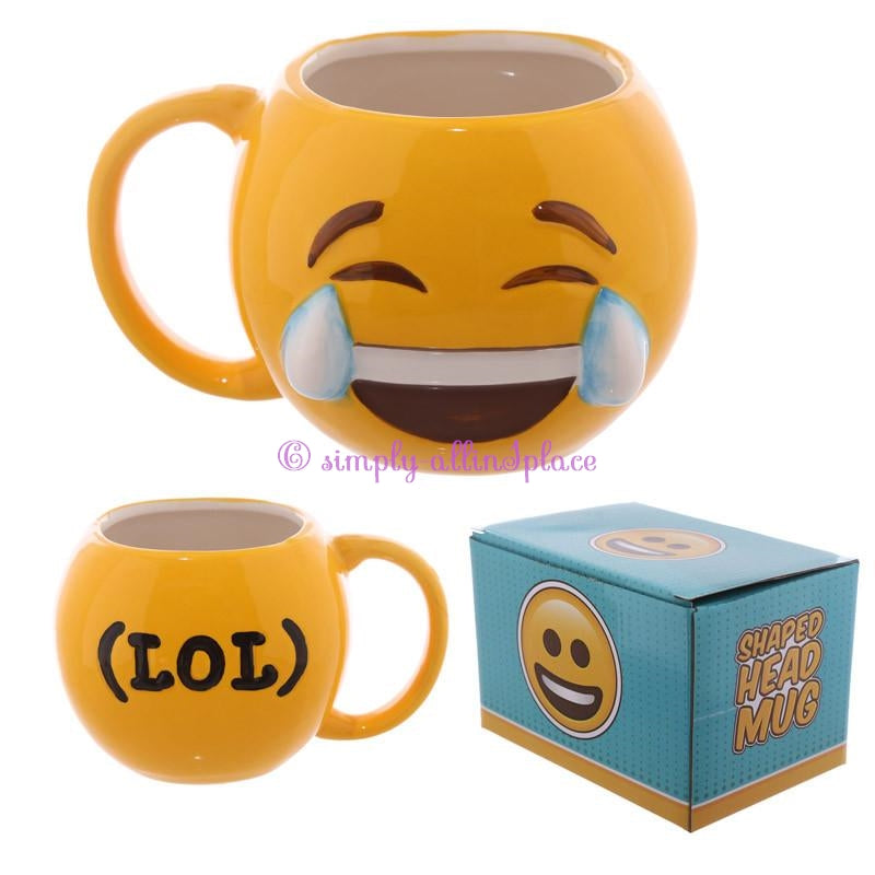 Fun Collectable Ceramic Emoti Mug