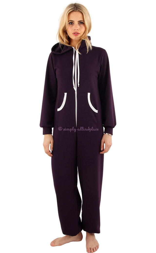 CONTRAST POCKET ONESIE - Stock Item