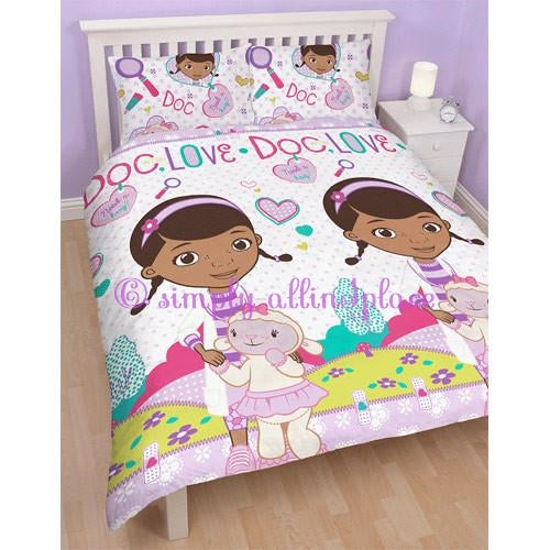 Doc McStuffins 'Hugs' Double Duvet Set - Stock Item