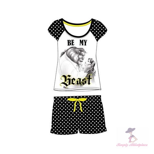 Be My Beast Ladies Pj's - Stock Item