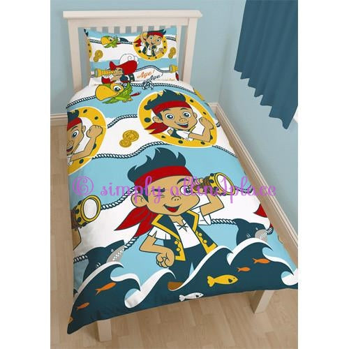 Jake and The Neverland Pirates Shark Double Duvet Set - Stock Item