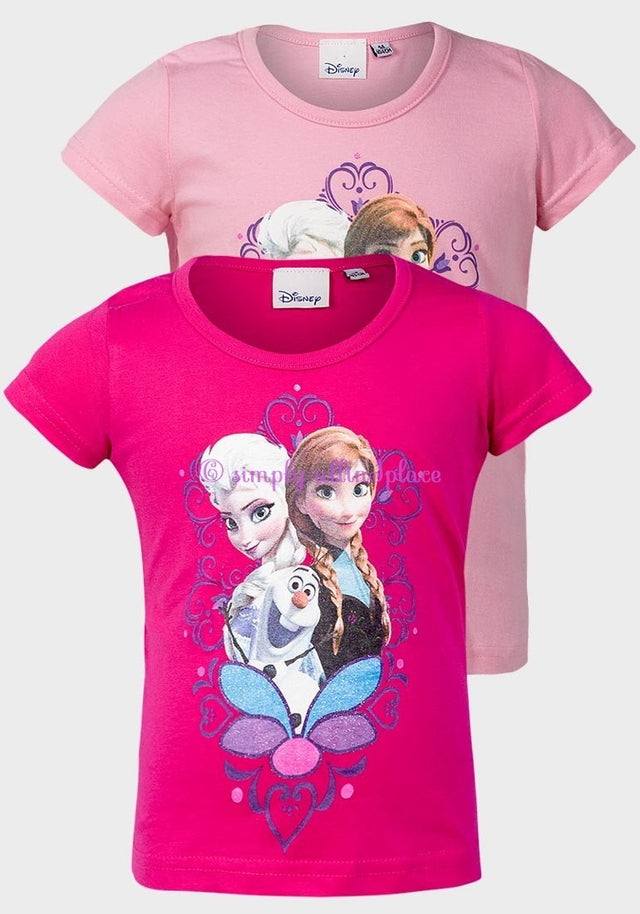 Disney Frozen Design Girls Printed Top - Stock Item