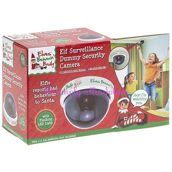 Elf Surveillance Dummy Security Camera - Stock Item
