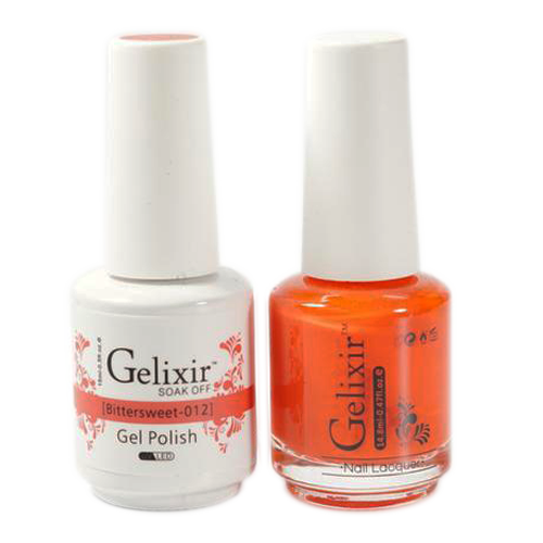 Gelixir Nail Lacquer And Gel Polish, 012, Bittersweet, 0.5oz KK1010