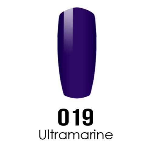 DC Nail Lacquer And Gel Polish (New DND), DC019, Ultramarine, 0.6oz KK1108