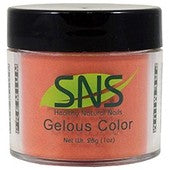 SNS Gelous Dipping Powder, 001, Grand Canyon Sunrise, 1oz BB KK0724
