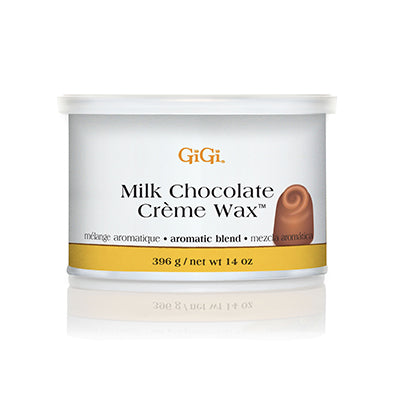 Gigi Milk Chocolate Creme Wax, 14oz, 0251 KK BB
