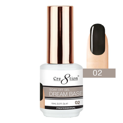 Cre8tion Dream Base Gel Polish, 0916-1560, 0.5oz, 02 KK0816