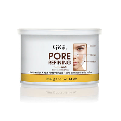 Gigi Pore Refining Facial Hard Wax, 14oz, 0342 KK BB