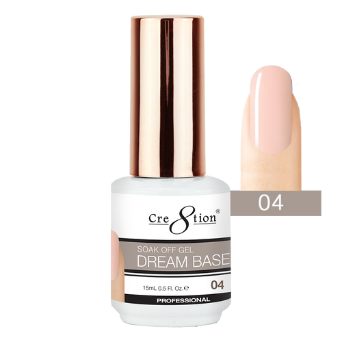 Cre8tion Dream Base Gel Polish, 0916-1562, 0.5oz, 04 KK0816