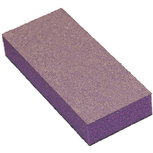 Cre8tion Buffer 2-Way Purple Foam, White Grit 60/100, 500 pcs/box, 06024 KK1004