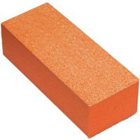 Cre8tion Buffer 3-Way Orange Foam, White Grit 80/100, 500 pcs/box, 06029 KK1217
