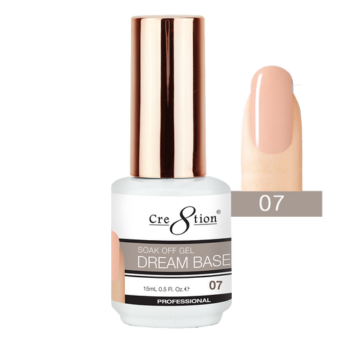 Cre8tion Dream Base Gel Polish, 0916-1565, 0.5oz, 07 KK0816