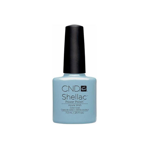CND Shellac Gel Polish, 09855, Spring 2013 Collection, Azure Wish, 0.25oz KK0824
