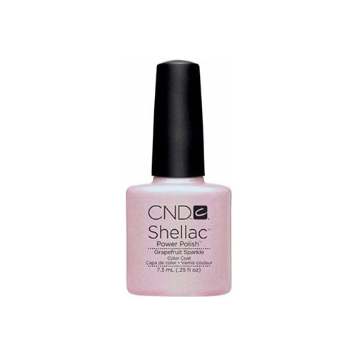 CND Shellac Gel Polish, 09857, Spring 2013 Collection, Grapefruit Sparkle, 0.25oz KK0824