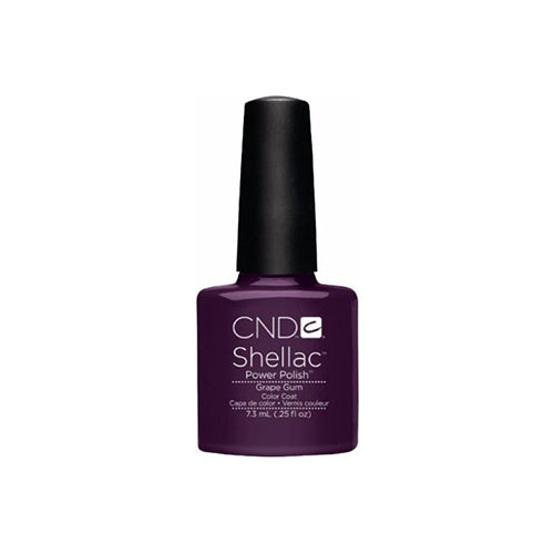 CND Shellac Gel Polish, 09945, Summer 2013, Grape Gum, 0.25oz KK0824