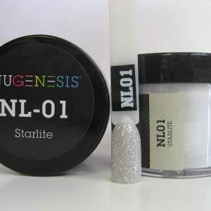 Nugenesis Dipping Powder, NL 001, Starlite, 2oz KK1003