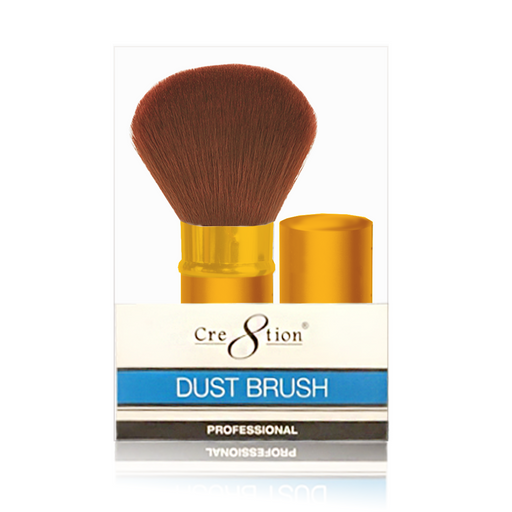 Cre8tion Retractable Dust Brush, GOLD, 12251 KK