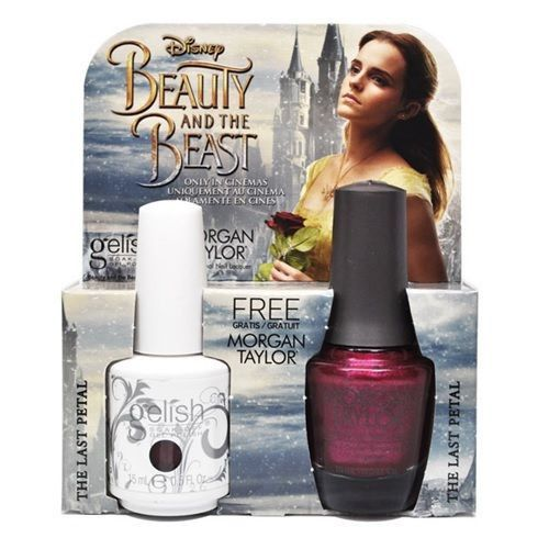 Gelish Gel Polish & Morgan Taylor Nail Lacquer, 1110247, Beauty And The Beast Collection, The Last Petal, 0.5oz BB KK